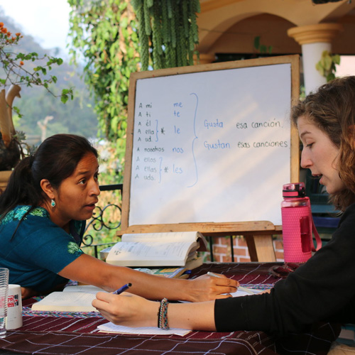 one to one spanish classes in Guatemala